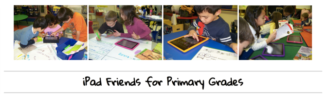 iPad Friends for Early Learners